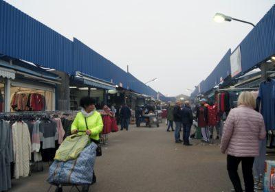 Alejka w centrum handlu hurtowego